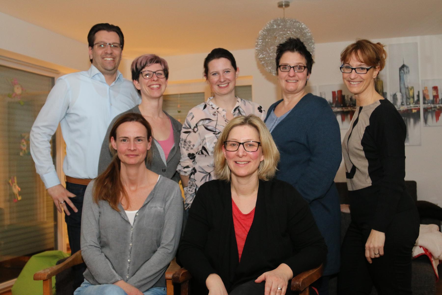 Vorstandsmitglieder Förderverein 2018